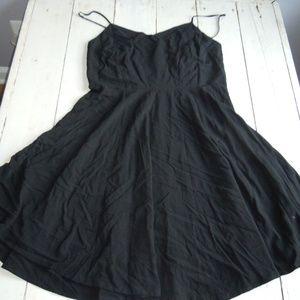 Old Navy Black Skater Dress - LIKE NEW